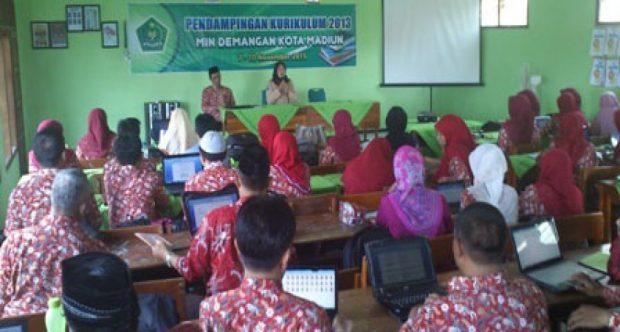 Workshop Pendampingan Pelaksanaan K-13 MIN DEMANGAN KOTA MADIUN