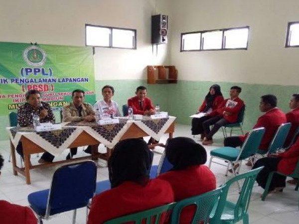Penerimaan Praktik Pengalaman Lapangan (PPL) PGSD IKIP PGRI Madiun di MIN Demangan Kota Madiun