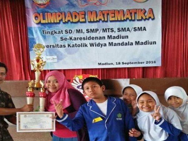 MIN Demangan menjadi Juara Umum dalam Olimpiade Matematika Se-Karisedenan Madiun