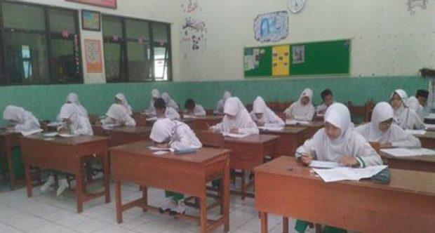 Pelaksanaan Ujian Akhir Madrasah Kelas VI