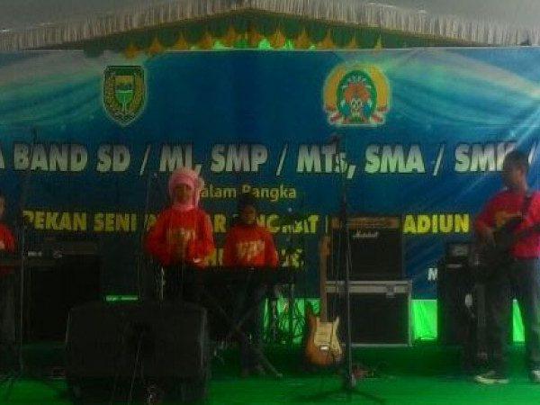 Siswa MIN Demangan Juarai Kompetisi Band di Event Pekan Seni Pelajar Tingkat Kota Madiun Tahun 2016