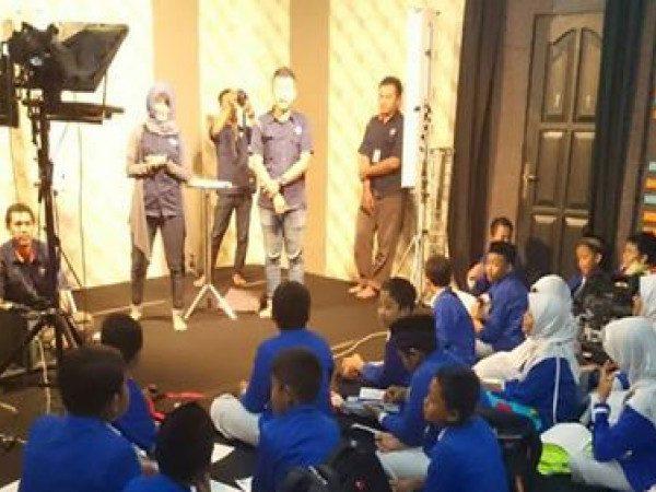 """Career Day bersama """"Stasiun TV Lokal JTV Madiun"""""""