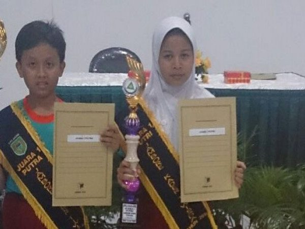 Raih Juara I Lomba Kader Tiwisada Tingkat SD/MI Kota Madiun