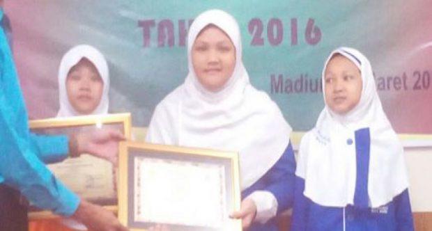 Juara Umum KSM Tingkat Kota Madiun Bersama Ganesha Operation Tahun 2016