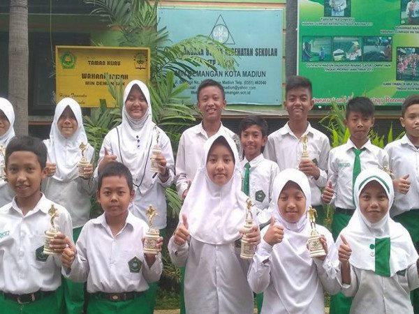 Kejuaraan Pekan Olahraga Pelajar ke-6 Kota Madiun MIN Demangan