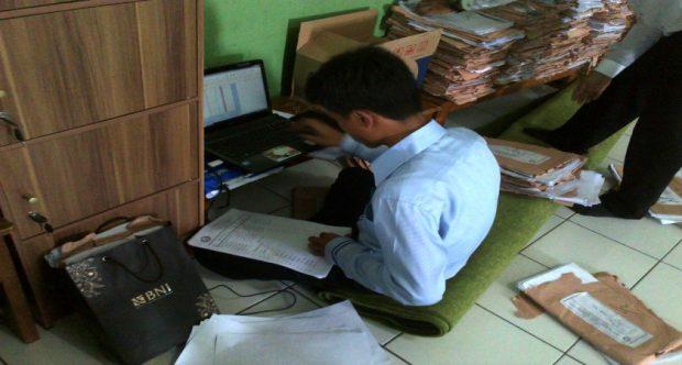 Rekapitulasi Nilai Ujian Tengah Semester 1 Oleh Panitia Ujian