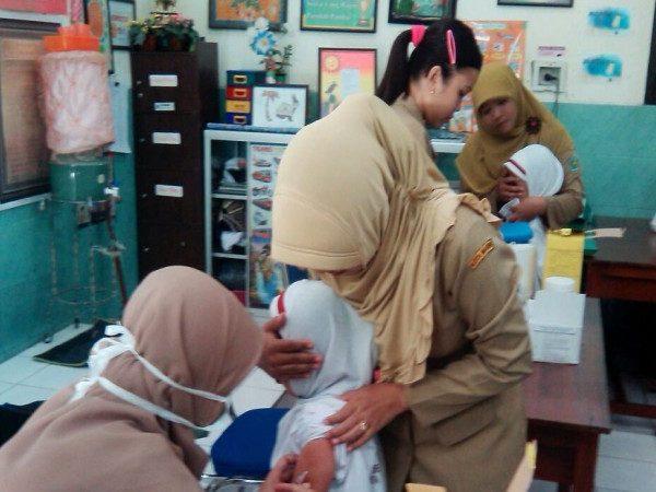Screning dan Imunisasi Upaya Peningkatan Kesehatan Anak Sekolah (BIAS) Campak